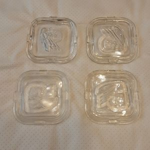 Federal Glass vintage lids $ 15.00 #A235